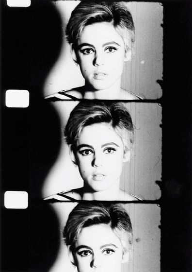 Edie Sedgwick. Andy Warhol Superstar. Film/Movie Actress. Black and White Print/Poster. Sizes: